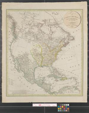 Primary view of Charte von Nordamerica : nach den neuesten Bestimmungen und Entdeckungen.