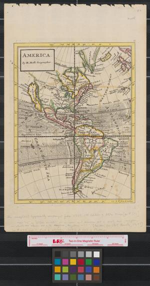 Primary view of object titled 'America.'.