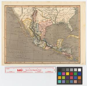 Primary view of Spanish Dominions in N. America.
