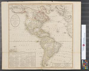 Primary view of Bowles's new one-sheet map of America: divided into its kingdoms, states, governmts. and other subdivisions ; laid down from observations of the most celebrated geographers.
