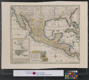 Primary view of A new & accurate map of Mexico or New Spain together with California, New Mexico &c.