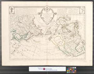 Primary view of Carte des nouvelles decouvertes au nord de la Mer du Sud : tant à l'Est de la Sibérie et du Kamtchatka, qu'é l'Ouest de la Nouvelle France.