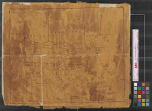 Primary view of object titled 'Map of Texas.'.
