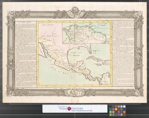Primary view of [Carte du Mexique, Nouvelle Mexique, et La Terre Ferme]