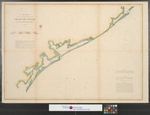 Primary view of object titled 'Coast of Texas : from Galveston to Corpus Christi.'.
