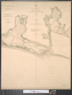 Primary view of object titled 'Coast Guard Chart No. 208 : Pass Cavallo, Lavaca and San Antonio Bays, Texas.'.