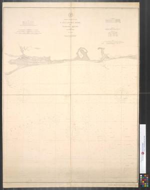 Primary view of object titled 'Coast Chart No. 202, Calcasieu Pass to Sabine Light, Louisiana.'.