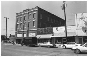Primary view of object titled '[Downtown Mineral Wells, 3 of 3:  The 100 Block]'.