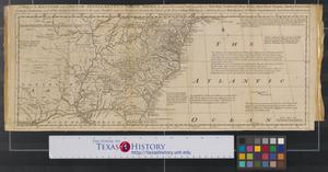 Primary view of object titled 'A map of the British and French settlements in North America [Sheet 2].'.