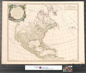 Primary view of Amerique septentrionale : dressée sur les relations les plus modernes des voyageurs et navigateurs, et divisée suivant les differentes possessions des Européens.