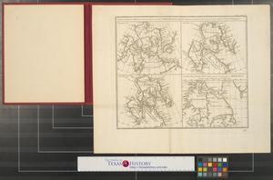 Primary view of Carte qui represente les differentes connoissances que l'on a eues des Terres Arctiques depuis 1650 jusqu'en 1747 ausquelles il faut comparer la carte suevante ce.
