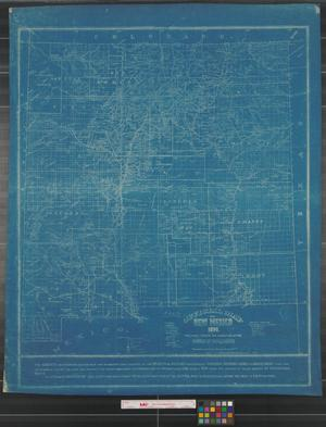 Primary view of object titled 'Official map of New Mexico.'.