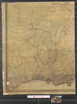 Primary view of object titled 'Lay's map of the United States [Sheet 2].'.