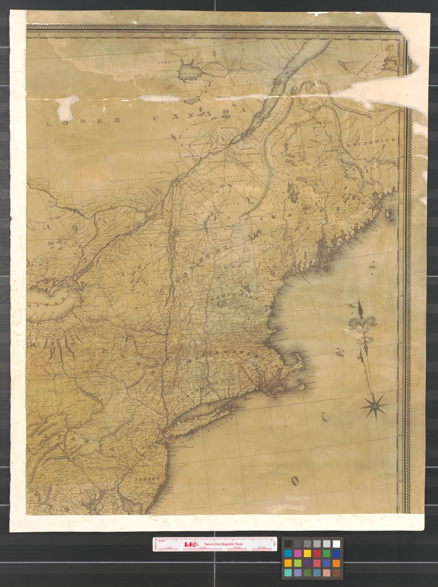 Lay's map of the United States [Sheet 3].                                                                                                      [Sequence #]: 1 of 2