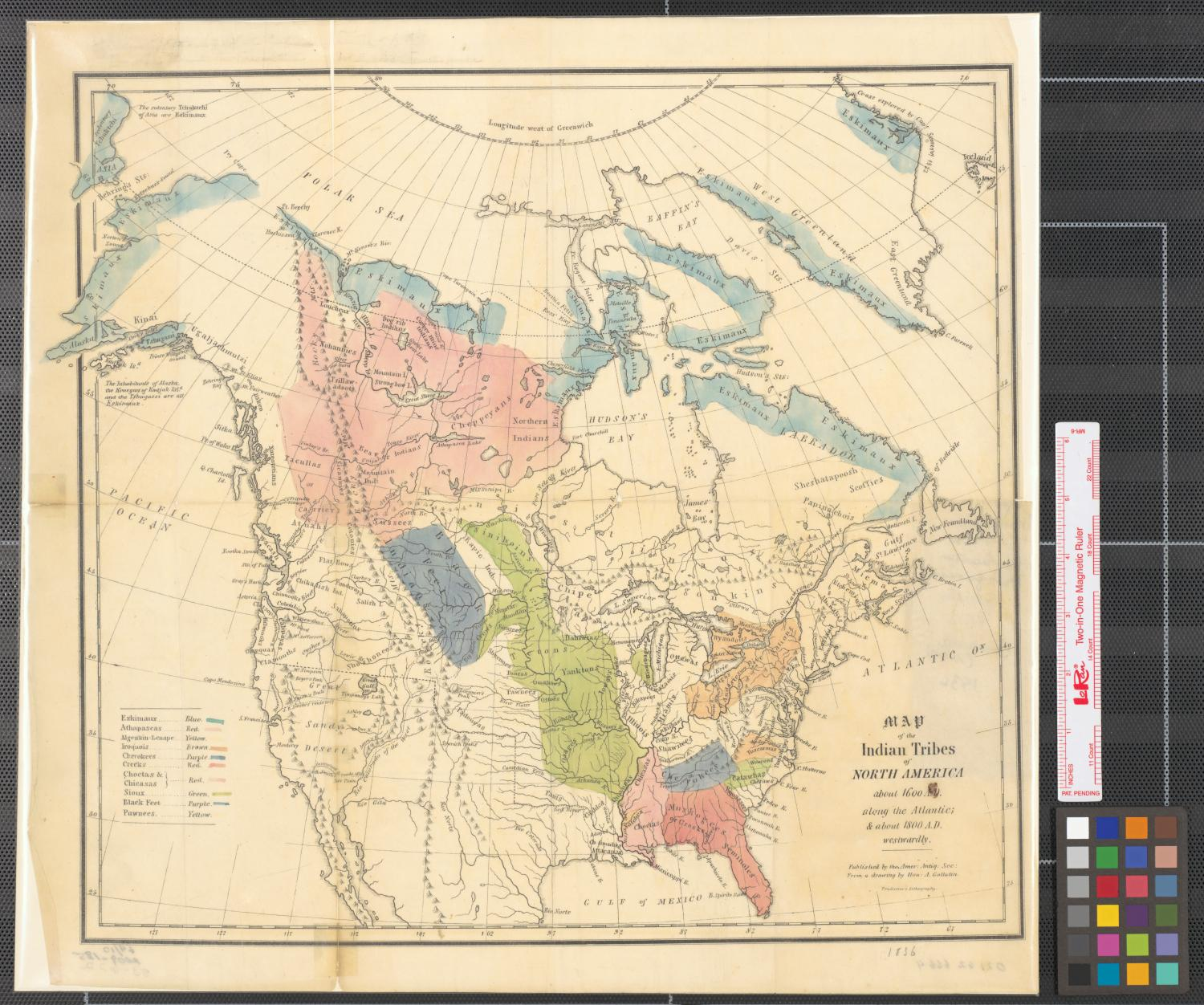 Map Of The Indian Tribes Of North America About AD Along - Native american tribes arkansas map