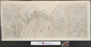 Primary view of object titled 'Map no. 2. Rio Colorado of the west : explored by 1st Lieut. Joseph C. Ives, Topl. Engrs. under the direction of the Office of Explorations and Surveys, A. A. Humphreys, Capt. Topl. Engrs. in charge by order of the hon. John B. Floyd, Secretary of War.'.