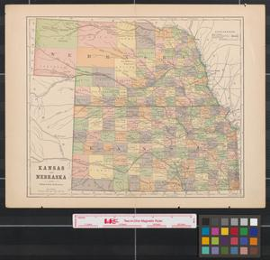 Primary view of object titled 'Kansas and Nebraska.'.