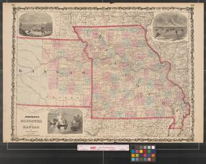 Primary view of Johnson's Missouri and Kansas.