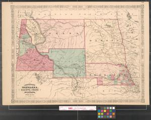 Primary view of object titled 'Johnson's Nebraska, Dakota, Idaho, and Montana.'.