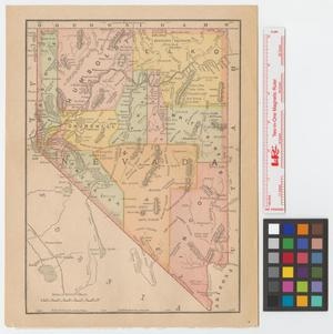 Primary view of object titled '[Map of Nevada].'.