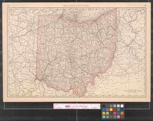 Primary view of object titled 'Rand, McNally & Co.'s Ohio.'.