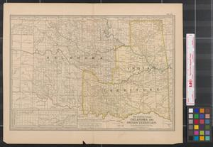 Primary view of object titled 'Oklahoma and Indian Territory.'.
