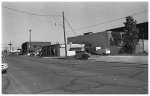 Primary view of object titled '[The 100 Block of West Hubbard]'.