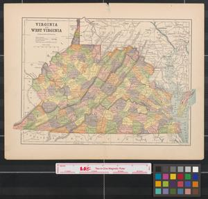 Primary view of object titled 'Virginia and West Virginia.'.