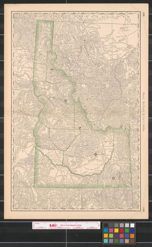 Primary view of object titled 'Rand, McNally & Co.'s Idaho.'.