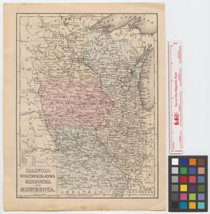 Primary view of object titled 'Illinois, Wisconsin, Iowa, Missouri, and Minnesota.'.
