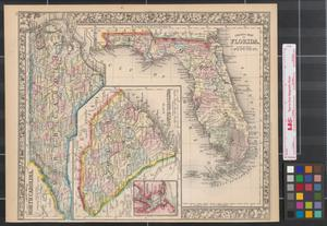 Primary view of object titled 'County map of North Carolina.'.