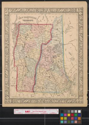 Primary view of object titled 'New Hampshire and Vermont.'.