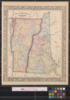 Primary view of New Hampshire and Vermont.