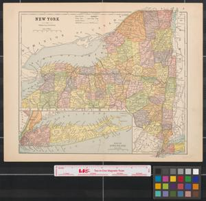 Primary view of object titled 'New York.'.