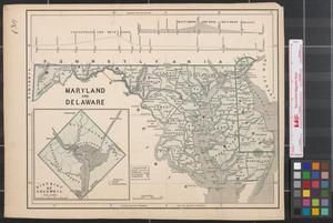 Primary view of object titled 'Maryland and Delaware.'.