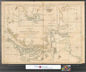 Primary view of A chart of the Straits of Magellan.