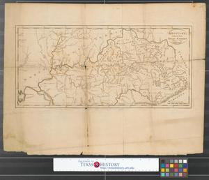 Primary view of object titled 'Kentucky, reduced from Elihu Barker's large map.'.