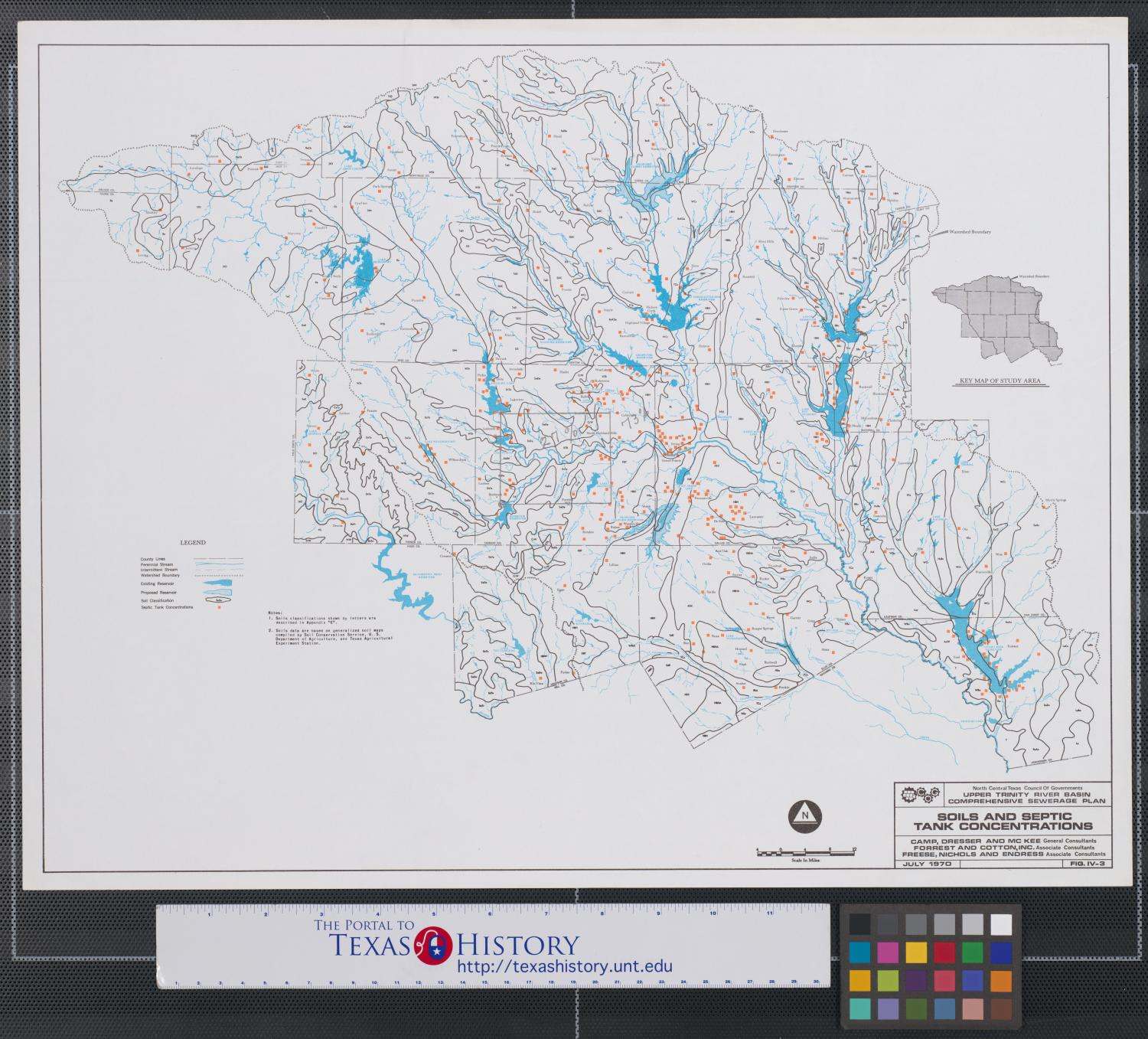 upper trinity river watershed - HD1500×1349