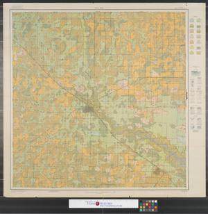 Primary view of object titled 'Soil map, Texas, Lubbock County sheet.'.