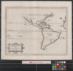 Primary view of object titled 'Americae sive Indiae occidentalis tabula generalis.'.