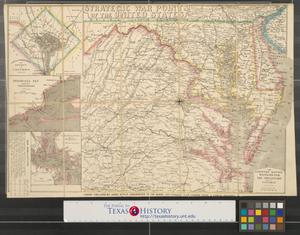 Primary view of object titled 'The country round Washington : the Chesapeake and the Potomac.'.