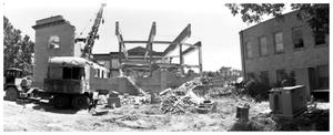 [The Demolition of the First Baptist Church, 6 0f 11:  Frame ]