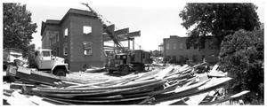 [The Demolition of the First Baptist Church, 5 of 11:   Looking Northeast.]