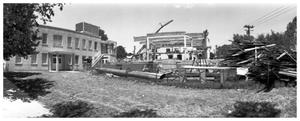 Primary view of object titled '[The Demolition of the First Baptist Church, 2 of 11:   Another Angle]'.