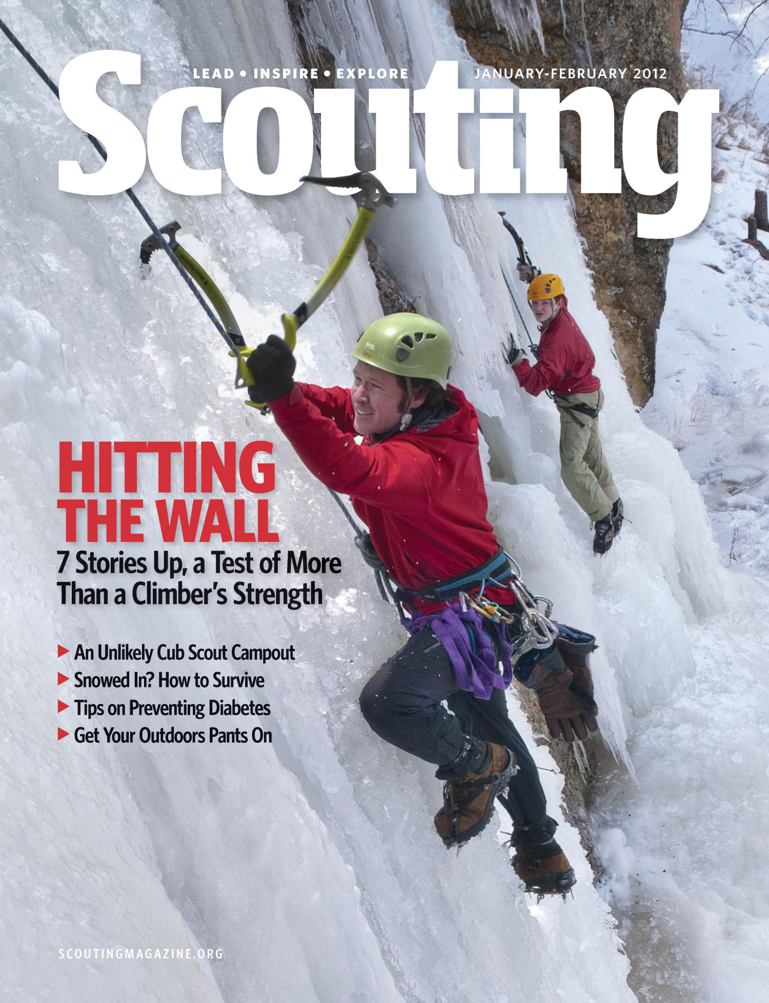 Scouting, Volume 100, Number 1, January-February 2012                                                                                                      Front Cover