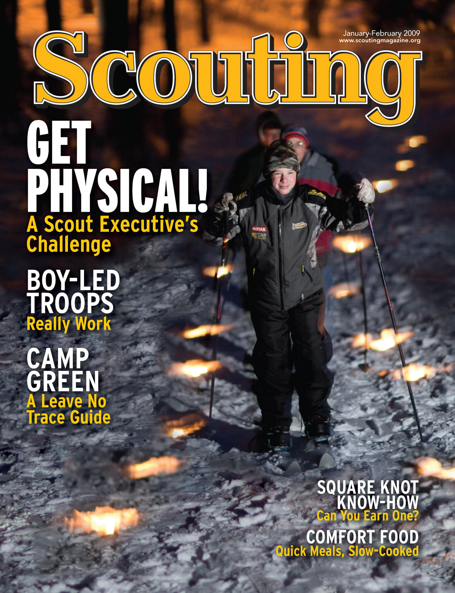 Scouting, Volume 97, Number 1, January-February 2009                                                                                                      Front Cover