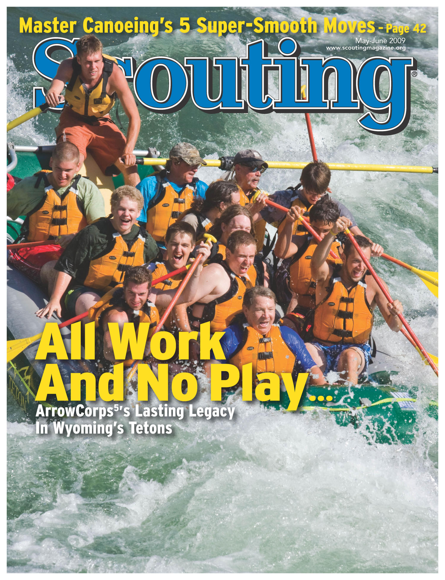 Scouting, Volume 97, Number 3, May-June 2009                                                                                                      Front Cover