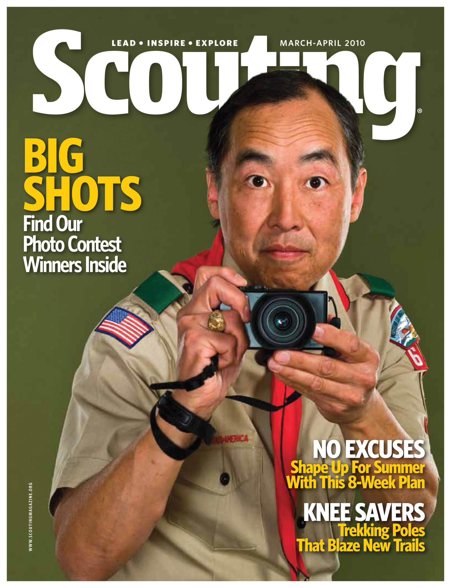 Scouting, Volume 98, Number 2, March-April 2010                                                                                                      Front Cover