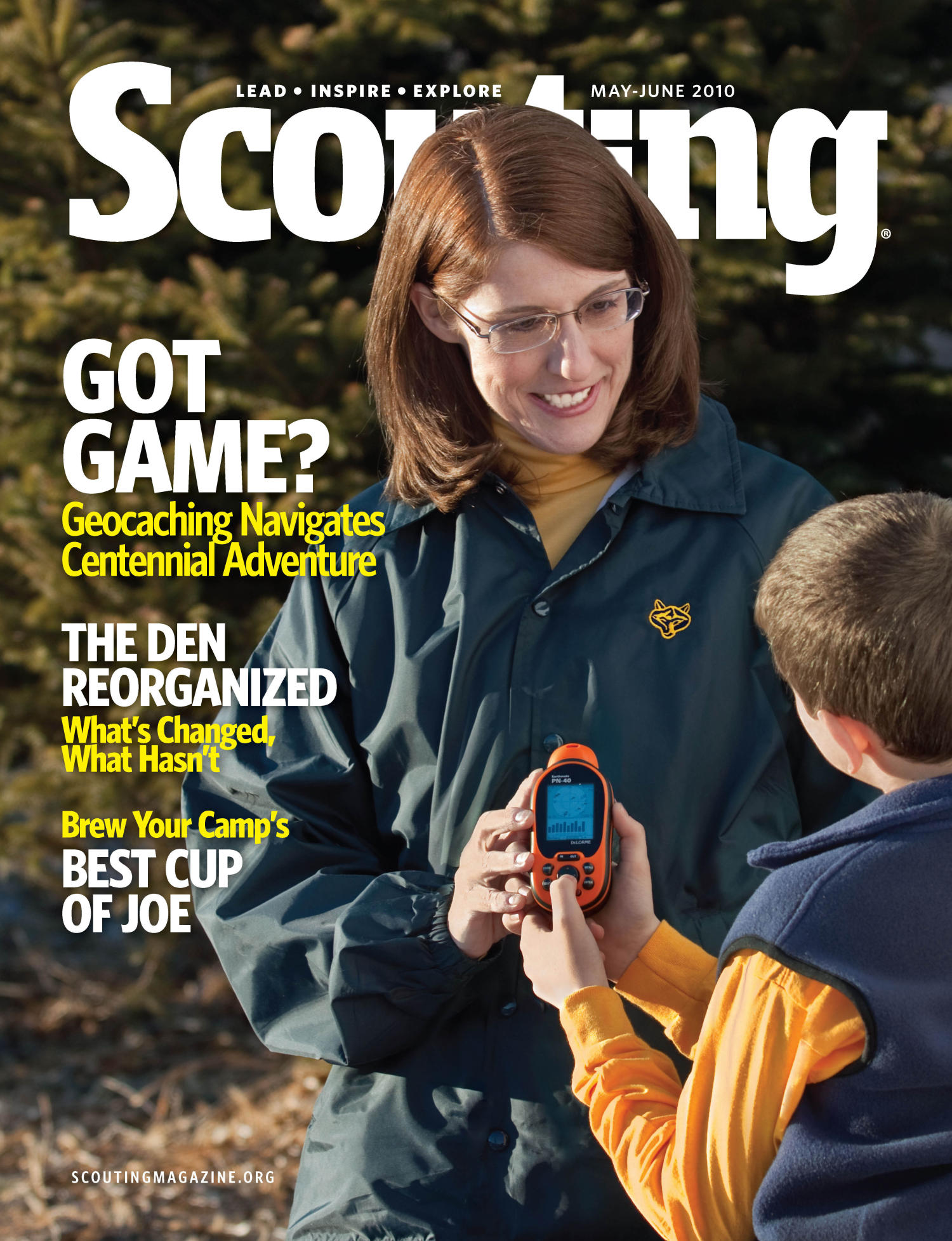 Scouting, Volume 98, Number 3, May-June 2010                                                                                                      Front Cover