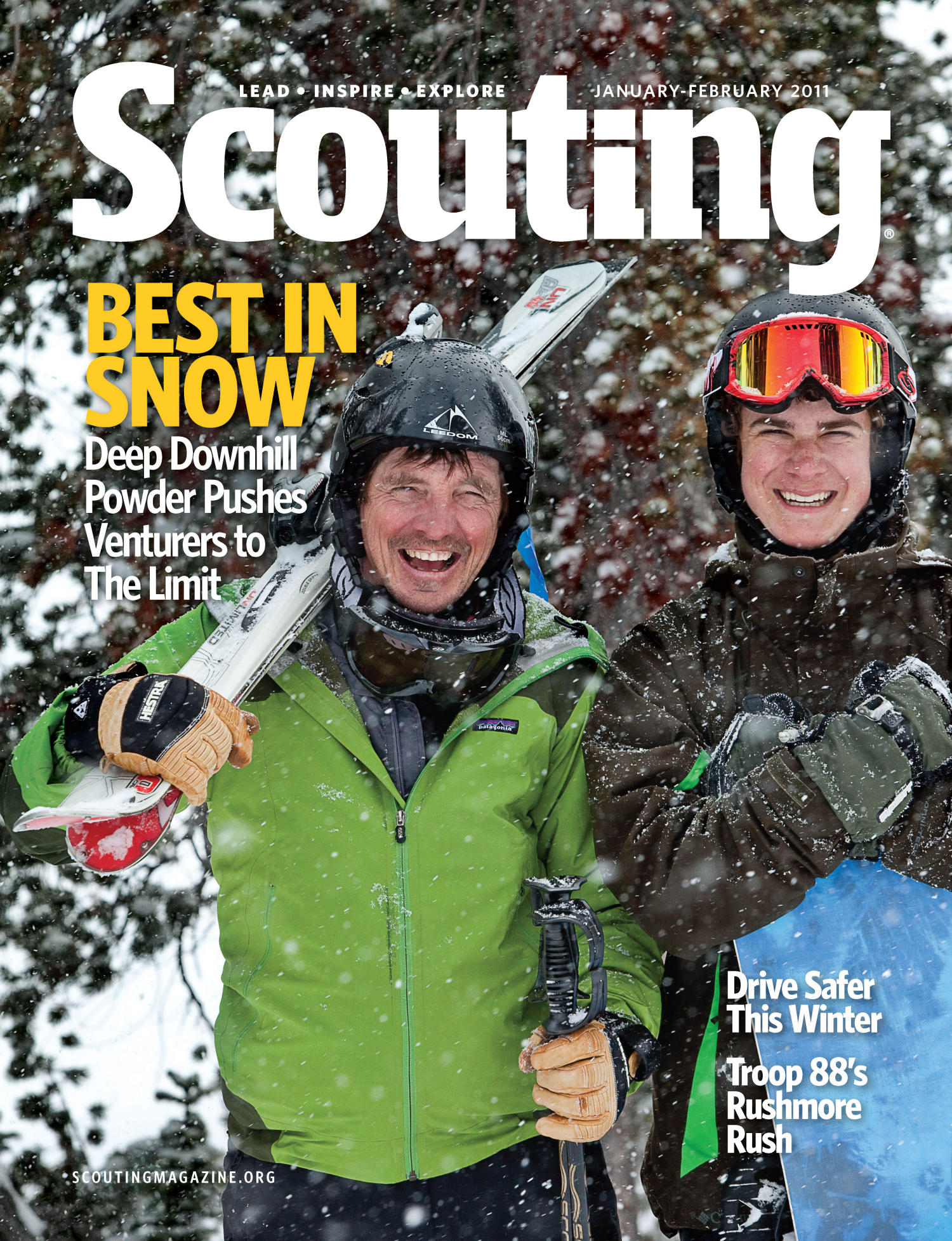 Scouting, Volume 99, Number 1, January-February 2011                                                                                                      Front Cover